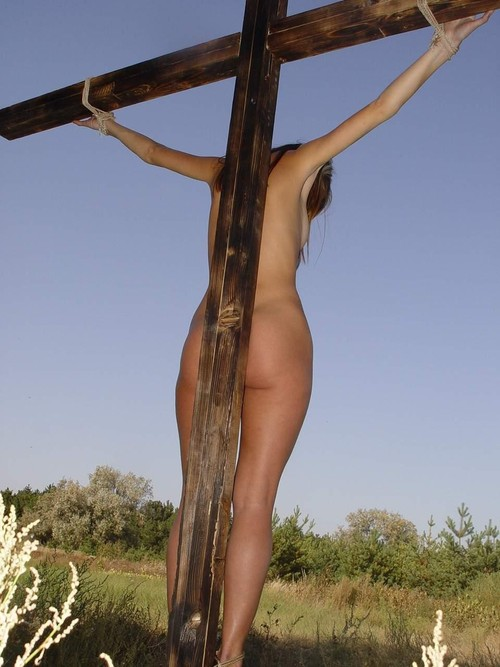 Crucified black vintage religious high resolution stock photography and images