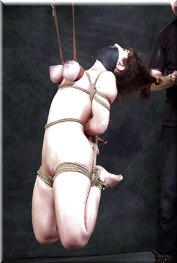 Tigerr Benson In BDSM Extreme Asian Rope Feature Extreme Rope