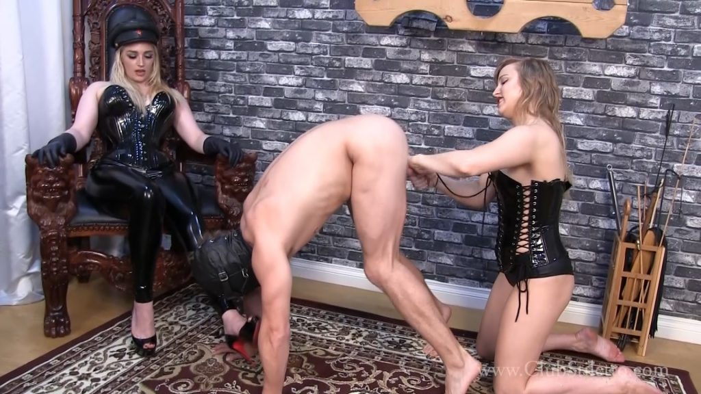 Ball busting and cock and ball torture