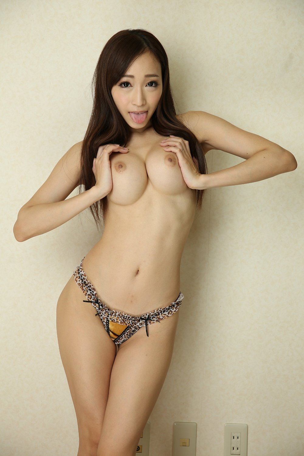 Topless asian models stock photos and pictures