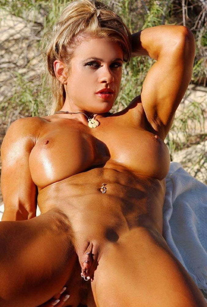 Muscle Babe Big Clit Orgasm Workout