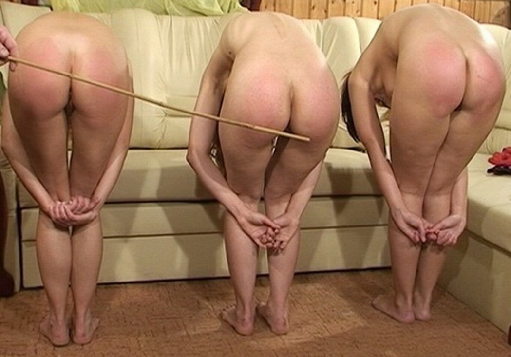 Should women be spanked nude