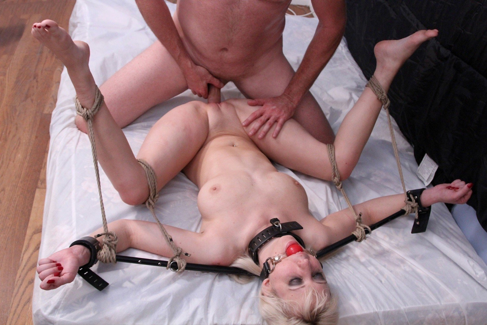 Teen Tied Up Fucked And And Forced To Squirt
