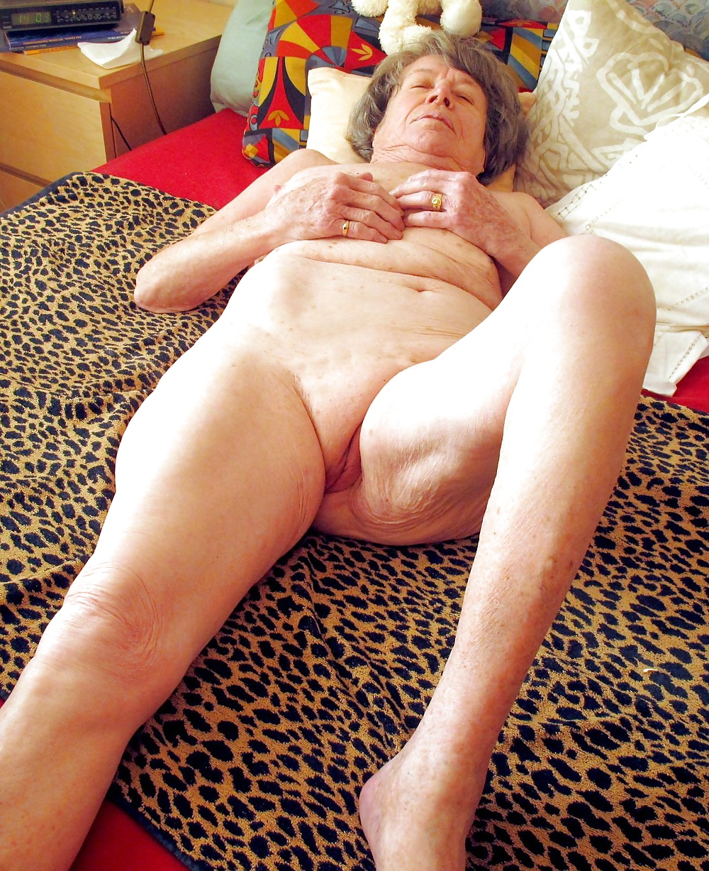 Amateur My Grandmother Naked On The Couch