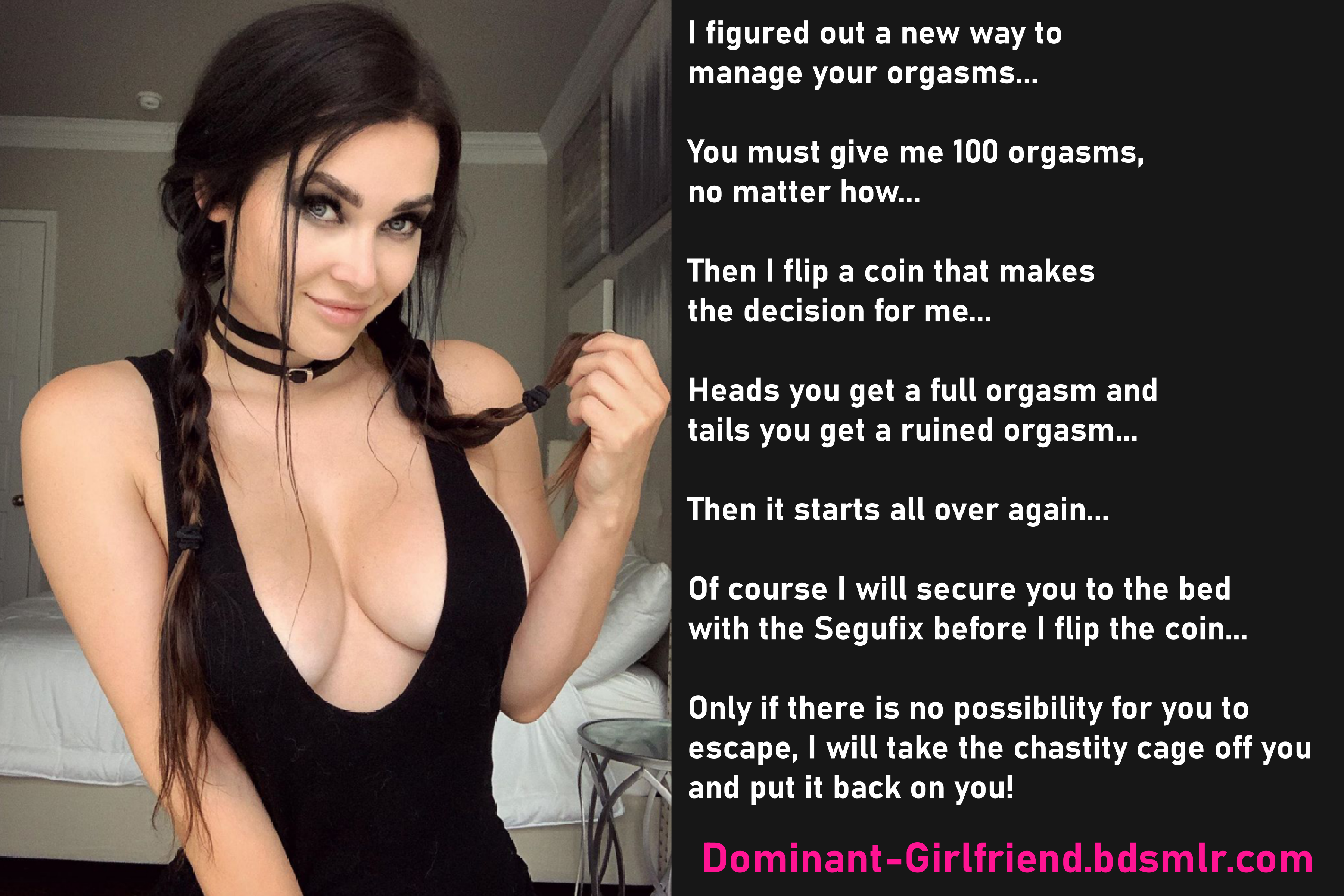 Relatable, i'm totally dominant with my girlfriend