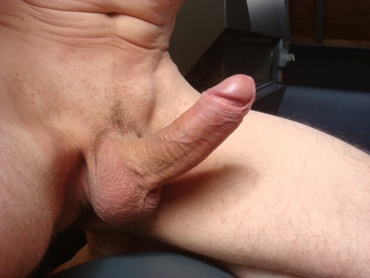 Shaved gay cock
