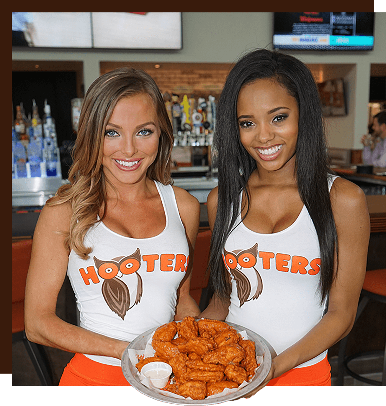 All naked hooters giving blowjobs